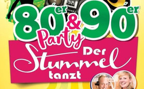 80er & 90er Party - Der Stummel tanzt